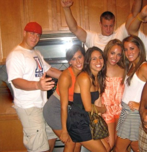 These were the dimes Gronk was slaying BEFORE be became a superstar.