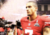 Colin Kaepernick at SB XLVII