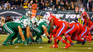 Bills - Jets Color Rush unis